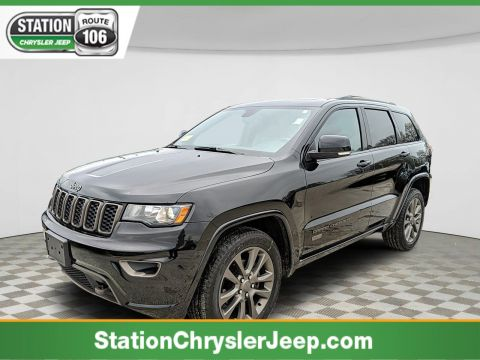 Certified Pre-Owned 2016 Jeep Grand Cherokee Limited 75th Anniversary