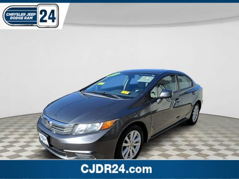 Pre-Owned 2012 Honda Civic Sdn EX